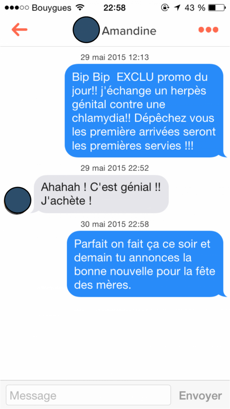 Message de drague pour site de rencontre